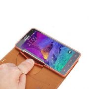 Samsung Galaxy S6 Luxury Folio Case Cover Stand